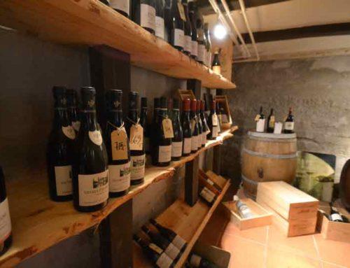 Reoler i vinbutik